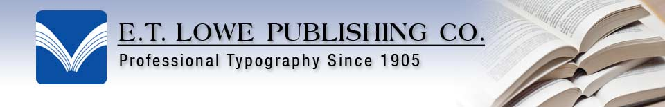 E.T. Lowe Publishing
